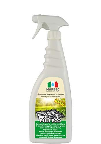 Marbec - Puli Eco 750ML | Detergente sgrassante Universale Ecologico ipoallerginico