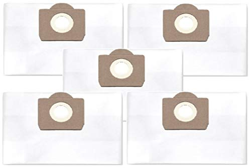 5x bolsas de polvo de filtro (clase de filtración M) para Bauhaus Herkules 15