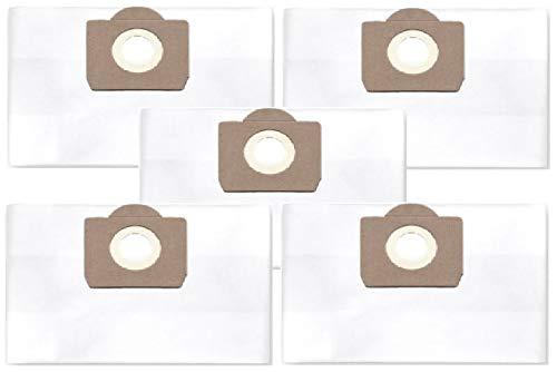 5x bolsas de polvo de filtro (clase de filtración M) para Rowenta RU 070, 071
