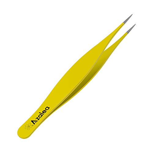 Ingrown Hair Tweezers - Premium Stainless Steel Sharp Tweezers for Ingrown Hair, Splinters, Ticks and Glass Removal
