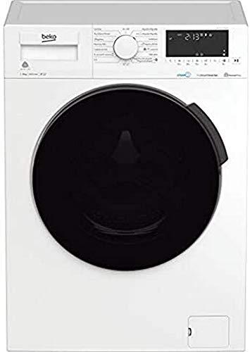 Lavadora secadora - Beko HTV 8716 DSW, 8/5 Kg, 1400 rpm, 57 dBA, Motor ProSmart? Inverter, A, Blanco