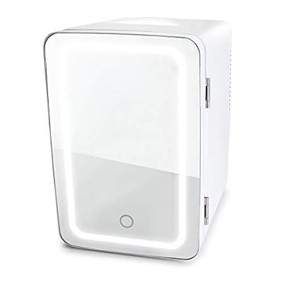 Personal Chiller LED Lighted Mini Fridge (White)