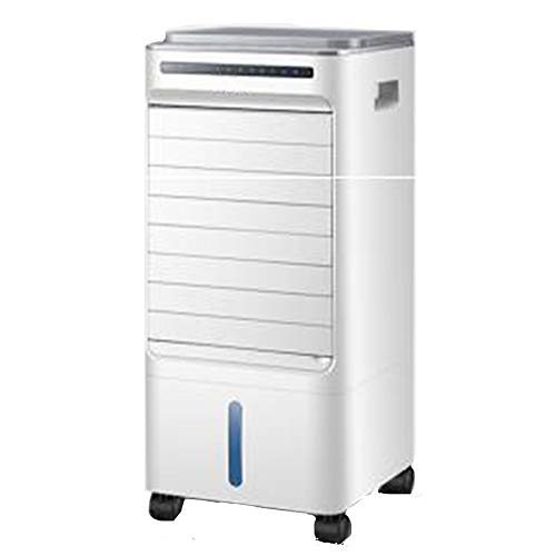 Tragbare Klimaanlage 3-in-1-Kleinklimagerät, tragbares 120 ° -Weitwinkel-5L-Dual-Tank-Klimagerät, geeignet for Zuhause oder Büro, 56 cm