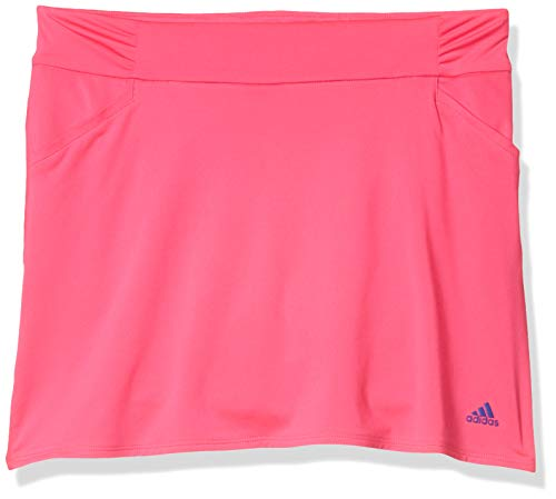 adidas Golf Ruffled Skort, Shock Pink, Small