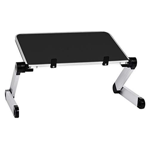 PPLAE Tabella in Lega di Alluminio Ultralight Portatile Pieghevole Pieghevole Tabelle Pieghevole Divano Letto Ufficio Laptop Stand Desk Computer Notebook Bed Table (Color : HH474000BL)