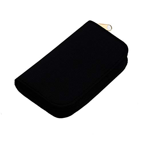 AnamSafdarButt59 4 Colores SD SDHC MMC CF para Almacenamiento de Tarjeta de Memoria Micro SD Bolsa de Transporte Bolsa Caja Caso Titular Protector Billetera Tienda al por Mayor