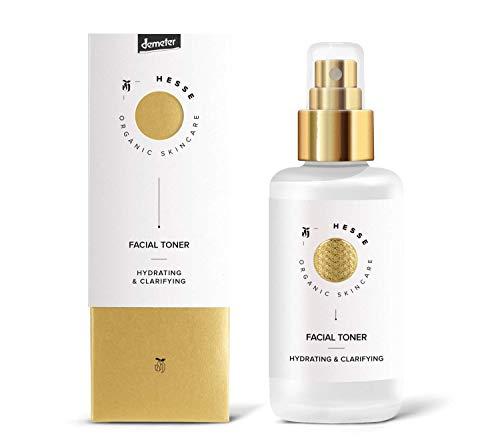 Hesse Organic Skincare Facial Toner - Hydrating & Clarifying 100 ml Demeter zertifiziert vegan | Naturkosmetik in Demeter Qualität
