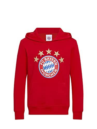 FC Bayern München Kinder Hoodie Logo rot Kleinkinder, 104
