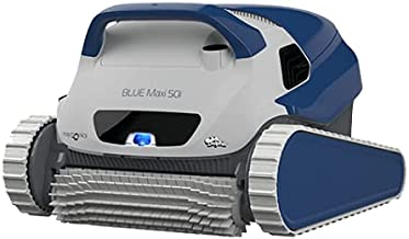 DOLPHIN Robot Limpiafondos de Piscina Automático - Cubre hasta 15 m - con App y WiFi - Limpia Fondo, Paredes y Línea de Flotación - Accesorios Piscina - Garantía de 3 Años Blue Maxi 50i Maytronics