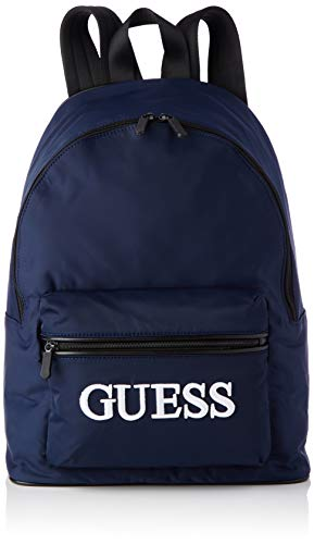 Guess Quarto Backpack Hombre Blue, One Size
