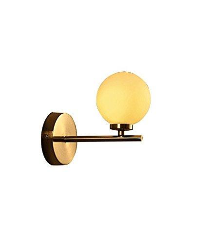 Mini-ballen in mini-formaat met licht Uplight wandspiegel mode eenvoud vintage industrieel metaal met glasmateriaal lampenkap