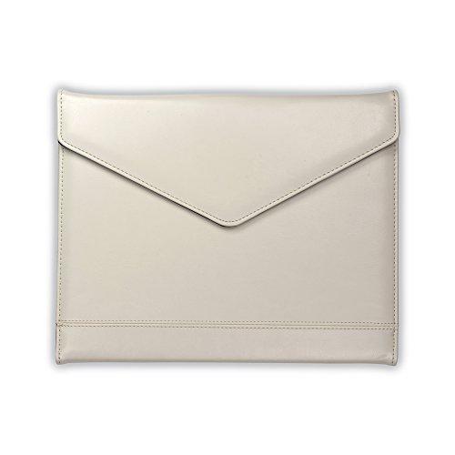 Samsill Envelope Style Trifold Padfolio, Resume Portfolio, Business Portfolio with Magnetic Closure, 8.5 x11 Writing Pad, Cream