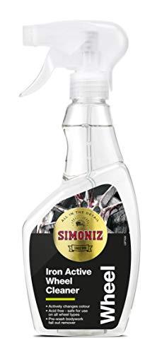 Simoniz SAPP0179A Limpiador de Ruedas Iron Action, Color Morado
