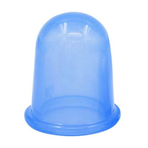 Gobelets thérapeutiques en silicone pour le corps, le visage, le cou, le dos et les yeux - Anti-cellulite - Absorbeur d'humidité - Soins de santé N° 4 - Pour massage du visage et du corps - 15 x 50 mm