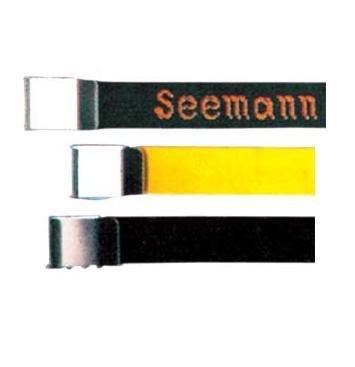 Subgear piombo cintura standard. Colore nero. A tinta unita con fibbia in acciaio inox - 823,032,100