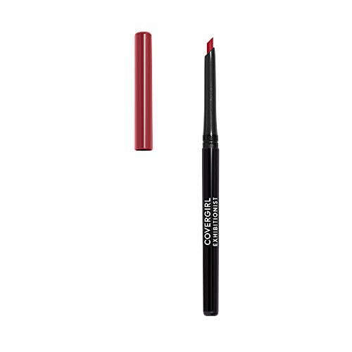 COVERGIRL Exhibitionist Lip Liner Uncarded, Cherry Red 220, 0.012 Ounce