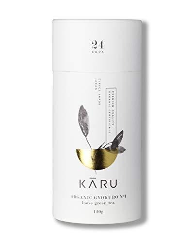 Premium Bio Gyokuro N°01 von Karu - Grüntee aus Japan - Geschenk-Verpackung - 120g Grüner-Tee