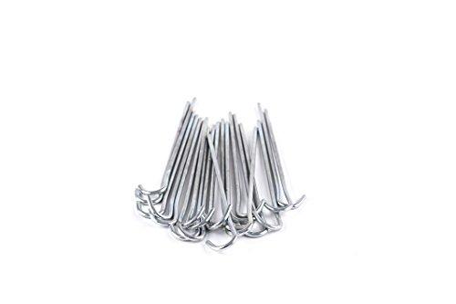 Mitre Metall-Torhering 20-teiliges Set, Silver