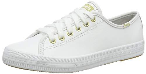 Keds Kickstart Jjml Leather, Zapatillas para Mujer, White, 37.5 EU