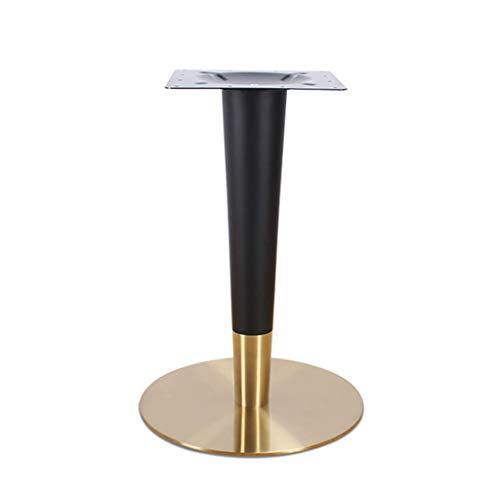 Patas de mesa Acero inoxidable dorado nordico estilo ligero comedor metal fondo redondo titanio restaurante cafe bricolaje patas de apoyo