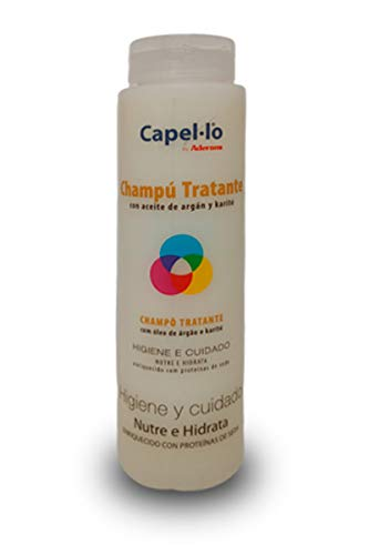 Champú Tratante 250ml Capel lo para pelucas y postizos sintéticos