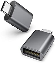 Syntech USB C to USB Adapter Pack of 2 USB C Male to USB3 Female Adapter Compatible with iMac iPad Mini/Pro 2021 MacBook Pro 2020 MacBook Air 2020 and Other Type C or Thunderbolt 3 Devices Space Grey