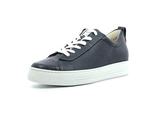 Paul Green Damen Sneaker 4951, Frauen Low-Top Sneaker, lose Einlage, Halbschuh strassenschuh schnürer schnürschuh sportschuh,Space,37.5 EU / 4.5 UK