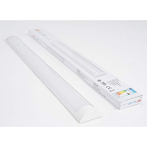 Réglette lumineuse LED 60cm 18W - Blanc Neutre 4000K - 5500K - SILAMP