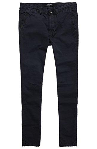 Superdry Surplus Low Rider Chino Pantalon, Noir (Washed BlackAFB), M Homme
