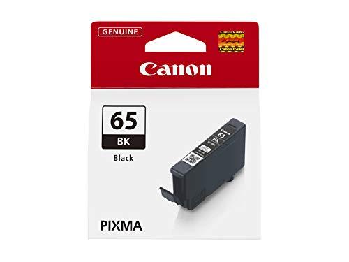 Canon CLI-65 BK Tinte schwarz, 12,6 ml Druckertinte für PIXMA Tintenstrahldrucker ORIGINAL