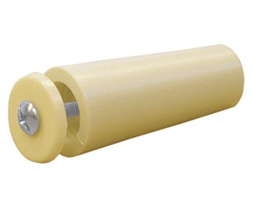 Sysfix 2320205 – aanslagstop voor rolluiken TP 55 in box met 12 stuks, met schroef en sluitring, ivoorkleurig