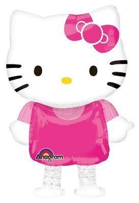 HELLO KITTY Cat 23' Air WALKER AIRWALKER Buddy Birthday Party Mylar Balloon by LGP