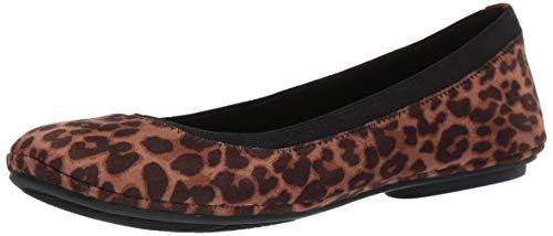 Bandolino Footwear Women's Edition Ballet Flat, Leopard, 5