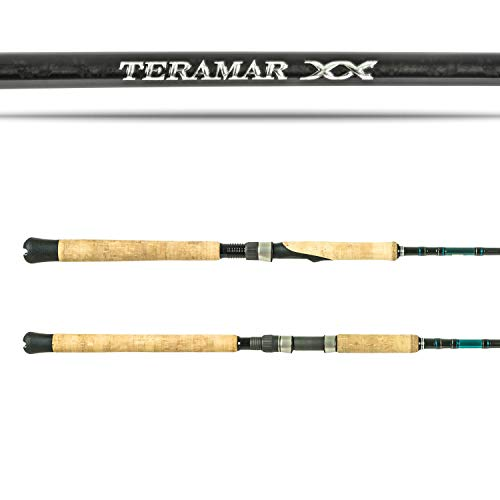 SHIMANO Teramar XX SE Spinning Saltwater|Inshore|Spinning Fishing Rods, 1pc - Power: Medium - Action: Extra Fast - Lure Rating: 1/4-5/8, Length: 7'0' - Lure Rating: 1/4-5/8