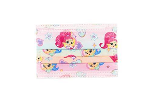 Shimmer and Shine- Maschera per Il Viso, Colore Rosa, COR5005SS
