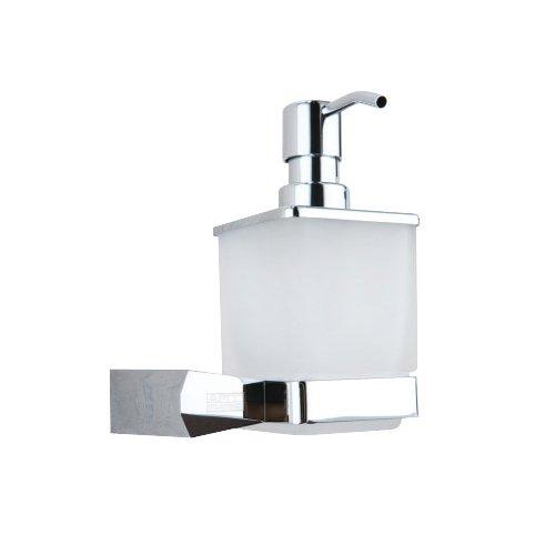 Art Platino Verchroomde Badkamer Dispenser voor zeep met Houder ROK-87072, Grijs
