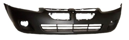 OE Replacement Dodge Stratus Front Bumper Cover (Partslink Number CH1000406)
