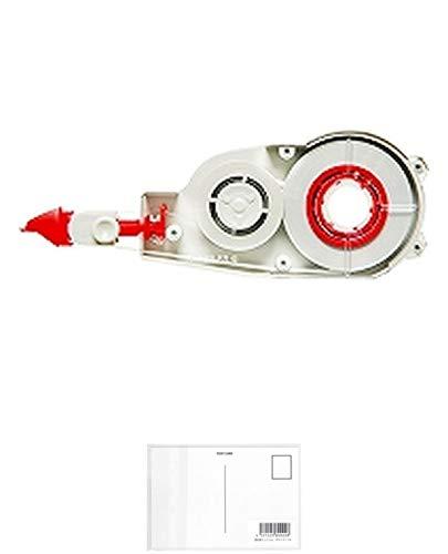 トンボ鉛筆 MONO 修正テープモノCX5用カートリッジ モノCR5 CT-CR5 + 画材屋ドットコム ポストカードA