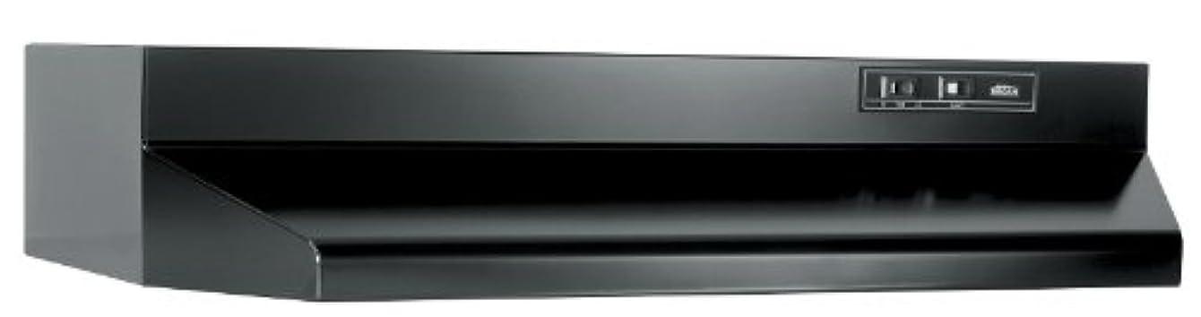Broan 403023 30 In. Black Ducted Range Hood