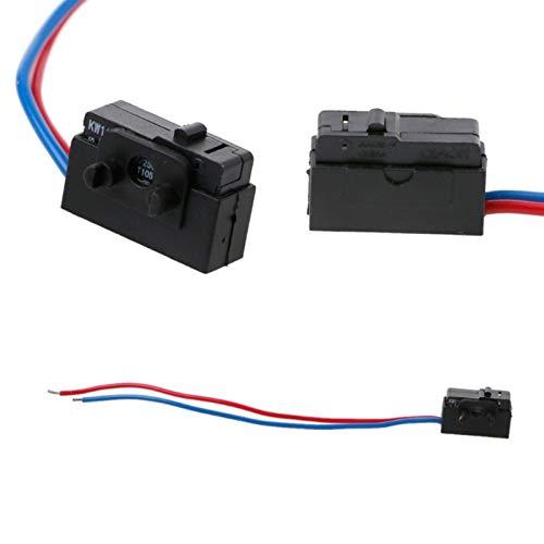 KASILU Jidian48 Cerradura de Sensor de Puerta de Izquierda Cerradura Micro Interruptor para Octavia Fabia Brilliant Passat B5 Bora Golf 4 MK4 Reemplazo (Color : Right Side)