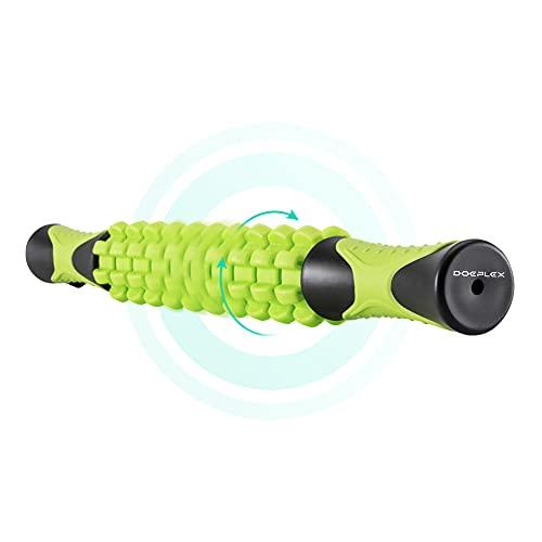 Doeplex Muscle Roller Massage Stick für die Entlastung Muskelkater, 45cm-Länge Massageroller zur Muskelentspannung, Verletzungenvorbeugung und Cellulitebeseitigung