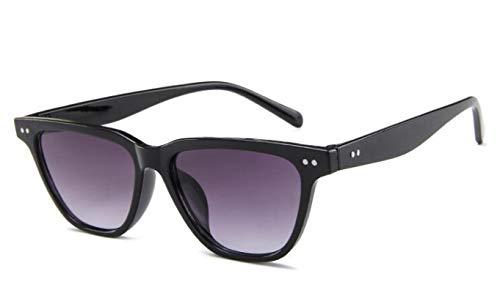 ShSnnwrl Gafas De Moda Gafas De Sol Gafas De Sol Cuadradas De Moda Hombres Mujeres Gafas De Sol De Conducción Retro Gafas Clásicas Uv400 C4Blackgray