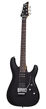 Schecter C-6 FR DELUXE Satin Black Solid-Body Electric Guitar Satin Black