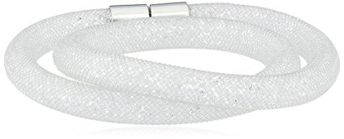 Swarovski Damen-Armband Metalllegierung Glas weiß 38.0 cm - 5102551
