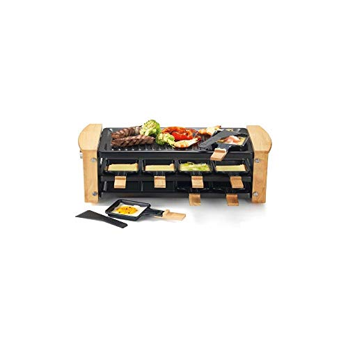 Kitchen chef - kcwood.8rp - Appareil … raclette 8 personnes 1200w + grill