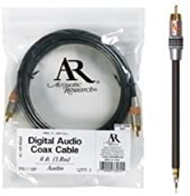 Acoustic Research 6-Foot Pro Series Digital Coaxial Cable (Polybag)