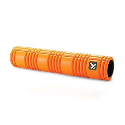 【日本正規品 1年保証】 トリガーポイント(TRIGGERPOINT) グリッド フォームローラー 2 オレンジ 筋膜リリース マッサージ ストレッチポール 長さ66cmのロングモデル 04412