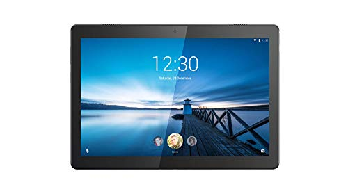 Lenovo Tab M10 25,5 cm (10,1 Zoll, 1280x800, HD, IPS, Touch) Tablet-PC (Qualcomm Snapdragon 429 Quad-Core, 2 GB RAM, 16 GB eMCP, Wi-Fi, Android 9) schwarz