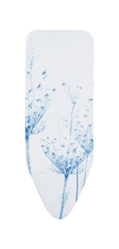 Brabantia - 118944 - Housse pour table à repasser C, 124 x 45 cm, Cotton Flower