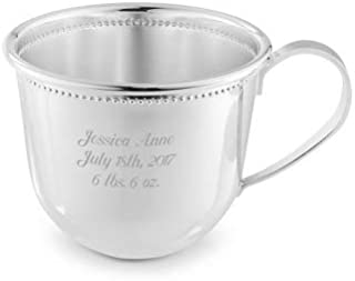 silver baptism cup